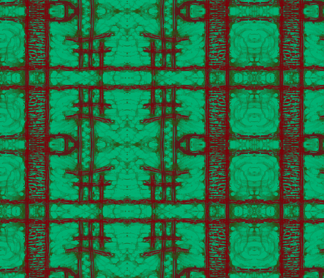 Red Ladder fabric by audarrt on Spoonflower - custom fabric