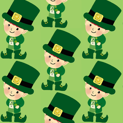 Leprechaun fabric by paragonstudios on Spoonflower - custom fabric
