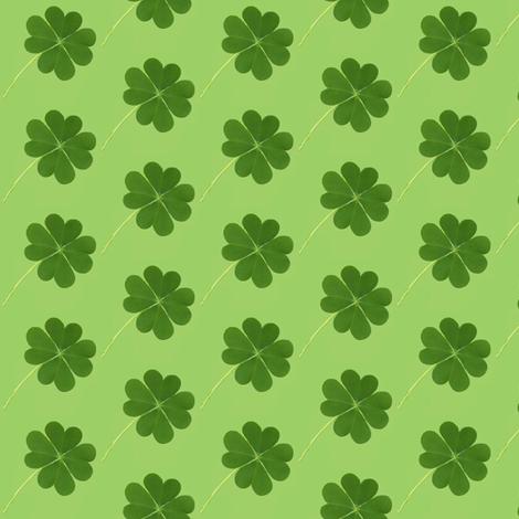4 leaf clover fabric by paragonstudios on Spoonflower - custom fabric