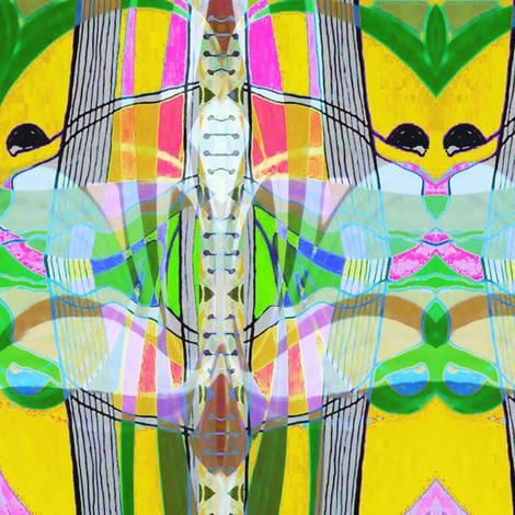 """Fly Away"" fabric by elizabethvitale on Spoonflower - custom fabric"