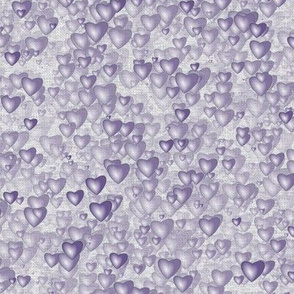 Sea Of Hearts - Full - Lavender