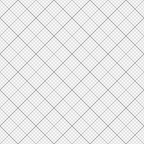 diagonal graph : grey fabric by sef on Spoonflower - custom fabric