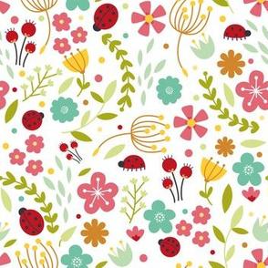 Ladybird Florals