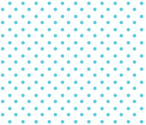 jb_sasparilla_med_dots_turquoise fabric by juneblossom on Spoonflower - custom fabric