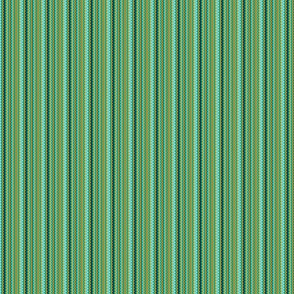 Teal Zigzag