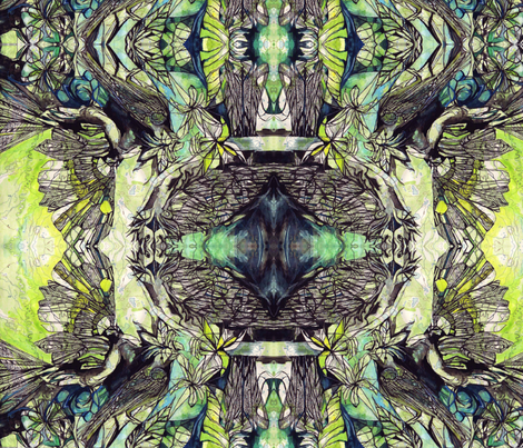 Birds2 fabric by maryo on Spoonflower - custom fabric
