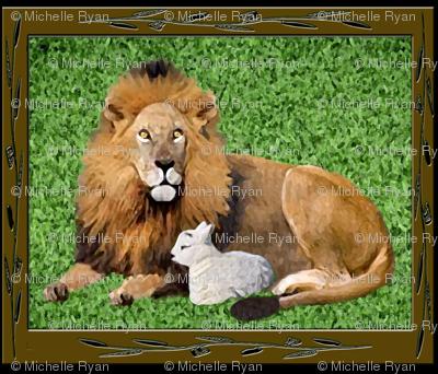 Lamb and Lion Panel