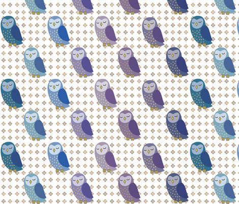 i_love_owls fabric by vichy on Spoonflower - custom fabric