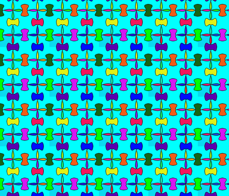 colors fabric by craige on Spoonflower - custom fabric