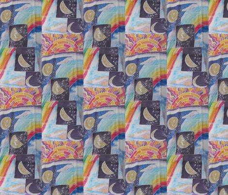 Elements of Creation fabric by billichki on Spoonflower - custom fabric