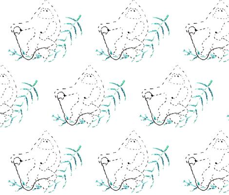 featherrider fabric by tuija_hansen on Spoonflower - custom fabric