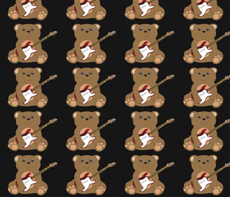 Teddy Rocker Hero fabric by emewy76 on Spoonflower - custom fabric