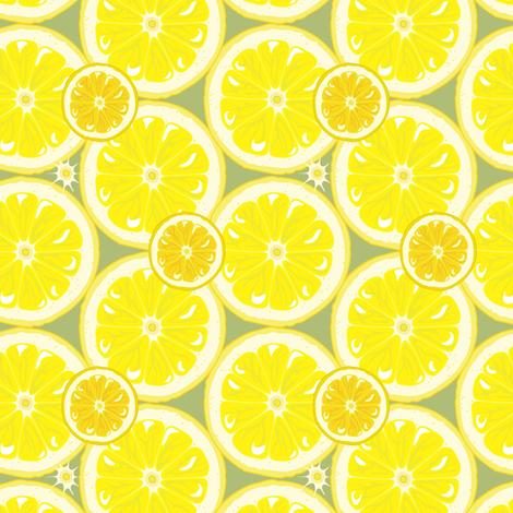 Oranges and Lemons fabric by bippidiiboppidii on Spoonflower - custom fabric