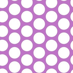 purple modern circles