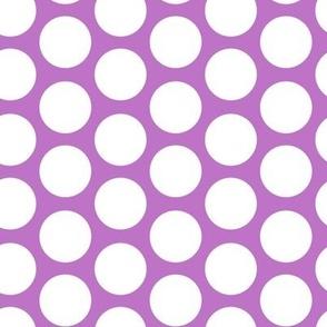 purple modern circles