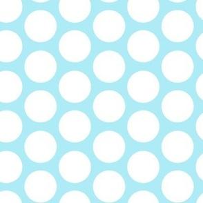 cool blue modern circles