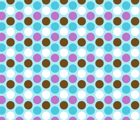 jb_sasparilla_circles_5 fabric by juneblossom on Spoonflower - custom fabric