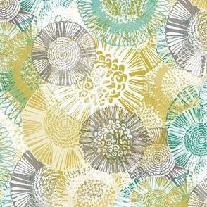 Multi Doodle Floral