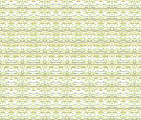 stripes and waves fabric by atwinso on Spoonflower - custom fabric