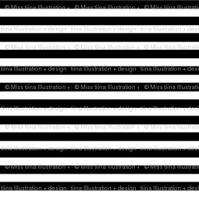 pinstripes black