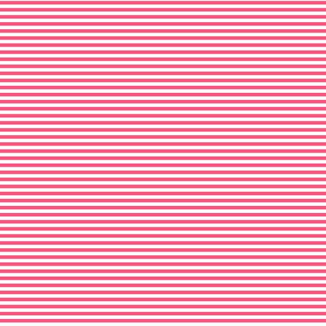 pinstripes hot pink fabric by misstiina on Spoonflower - custom fabric