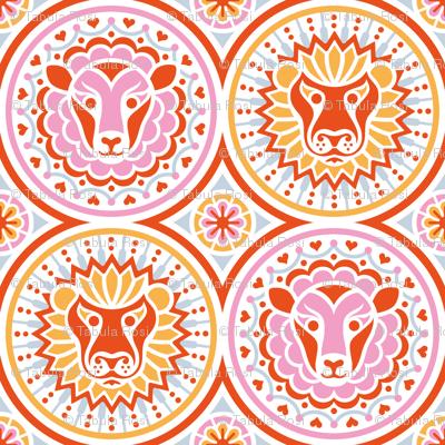 Lions & Lambs Medallions