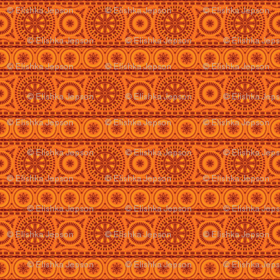 Southern Stripes (Orange)