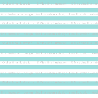 pinstripes light teal