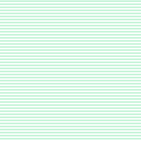 pinstripes ice mint green fabric by misstiina on Spoonflower - custom fabric