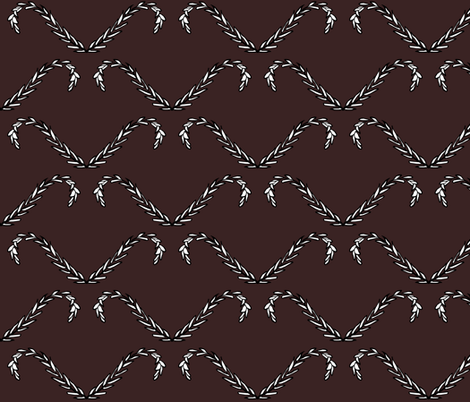 Dark Laurel fabric by pond_ripple on Spoonflower - custom fabric