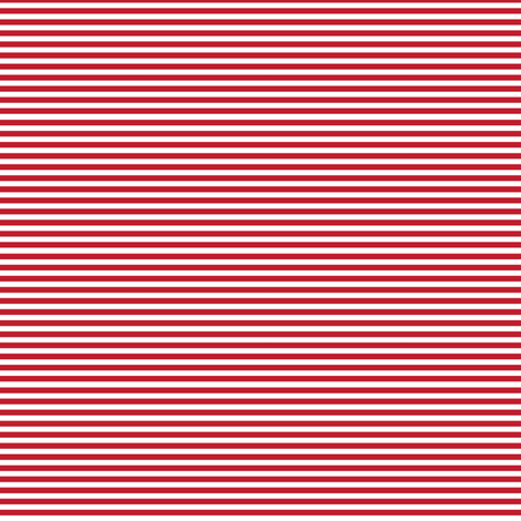 pinstripes red fabric by misstiina on Spoonflower - custom fabric