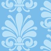 Sea Blue Flourish