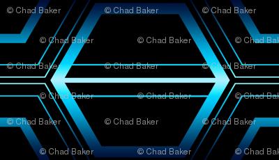 Blue Laser Hex