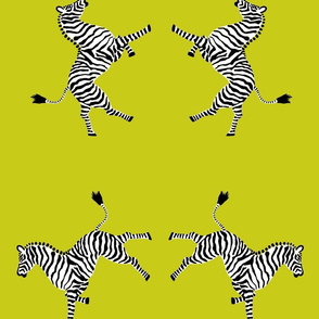 Zebra_hi5_acid green
