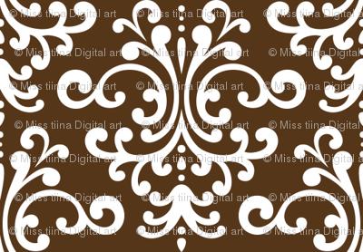 damask brown