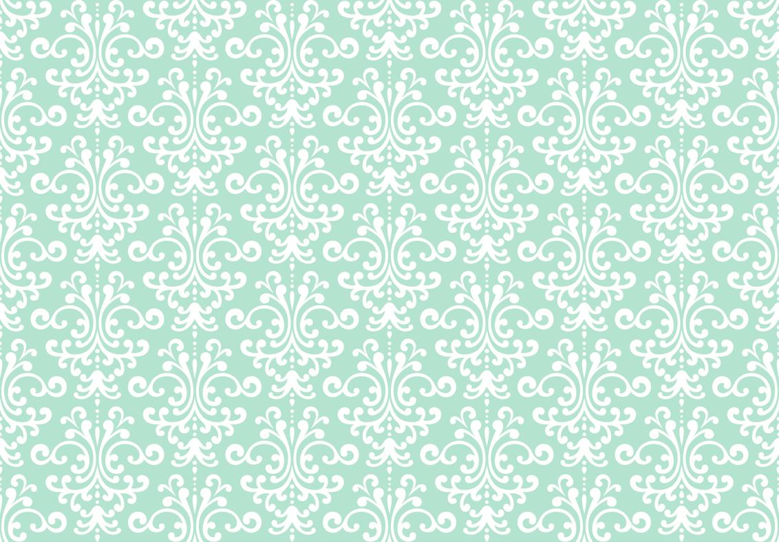 Damask Mint Green Wallpaper Misstiina Spoonflower