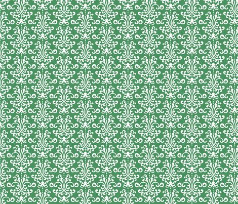 damask kelly green fabric by misstiina on Spoonflower - custom fabric