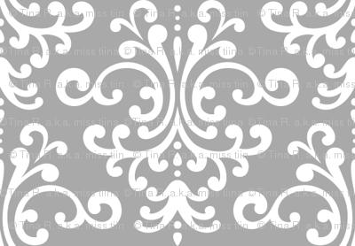 damask grey