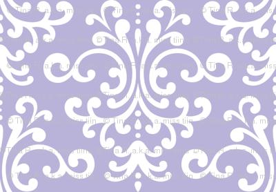 damask light purple