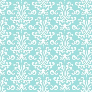 damask light teal