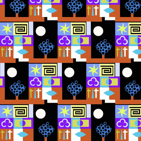 Swordsmithy fabric by boris_thumbkin on Spoonflower - custom fabric