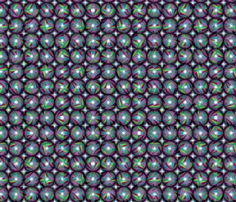 Blue Raspberry Steel Balls fabric by billfester on Spoonflower - custom fabric