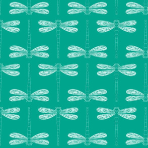 dragonfly directional in emerald