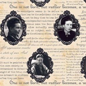 Cameo de Beauvoir