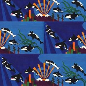 Orcas Ascending - small