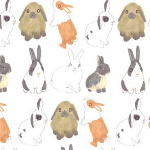 Easter Bunny Rabbits