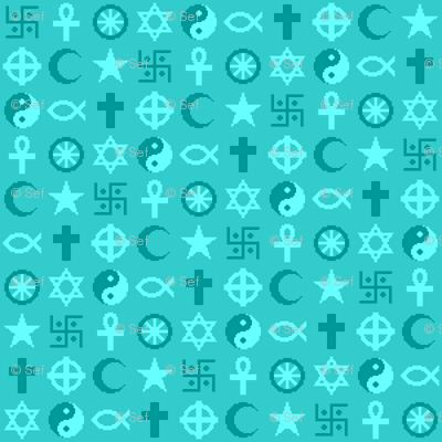 religious symbols - tiny