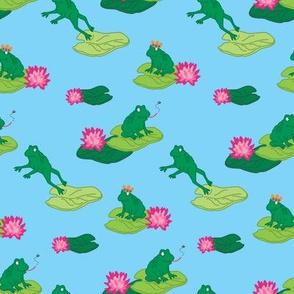 Frogs Make a Splash