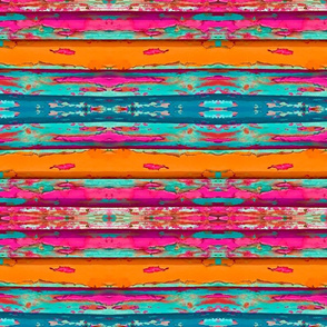 Southwest Chipped Paint Stripes