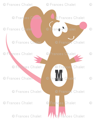 M is for Miss Mouse